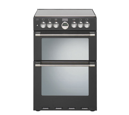 Stoves Sterling 600DF Dual Fuel Cooker - Black - GRADED.