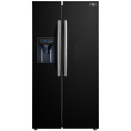 Stoves SXS905 American Fridge Freezer - Black - A+ Rated - GRADED