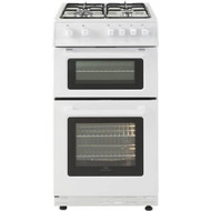 New World NW50GTC Gas Twin Cavity Cooker - White