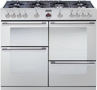 Stoves Sterling R1100GT Gas Range Cooker - Stainless Steel