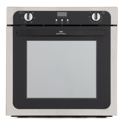 Newworld NW602FP Built In Electric Single Oven - Stainless Steel - A Rated - GRADED