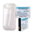 Extended Life Battery for Samsung Galaxy S3 White