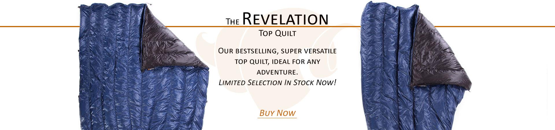 Revelation Top Quilt In-Stock