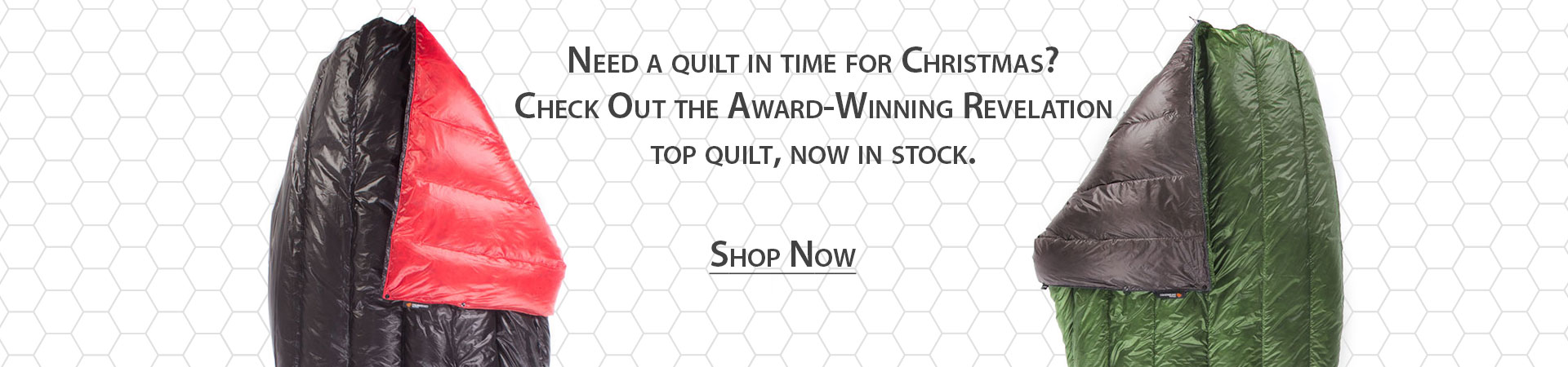 Revelation Top Quilt Now In Stock