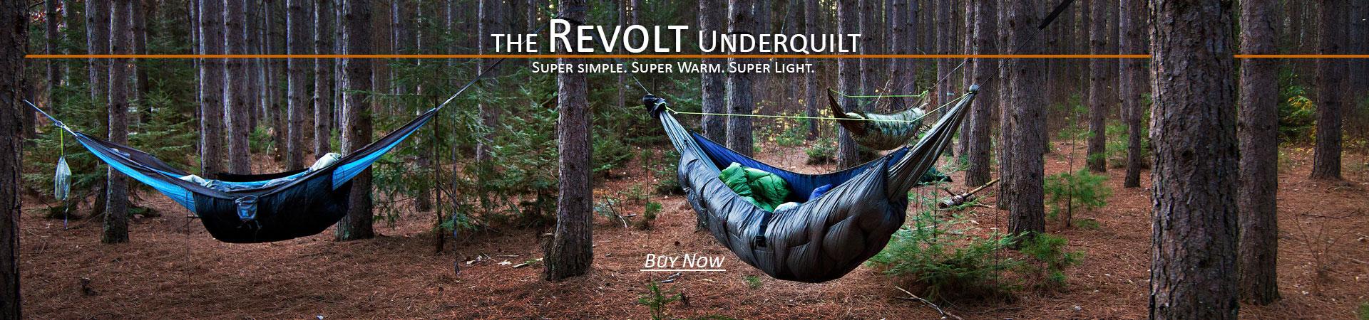 Revolt 800fp down Underquilt