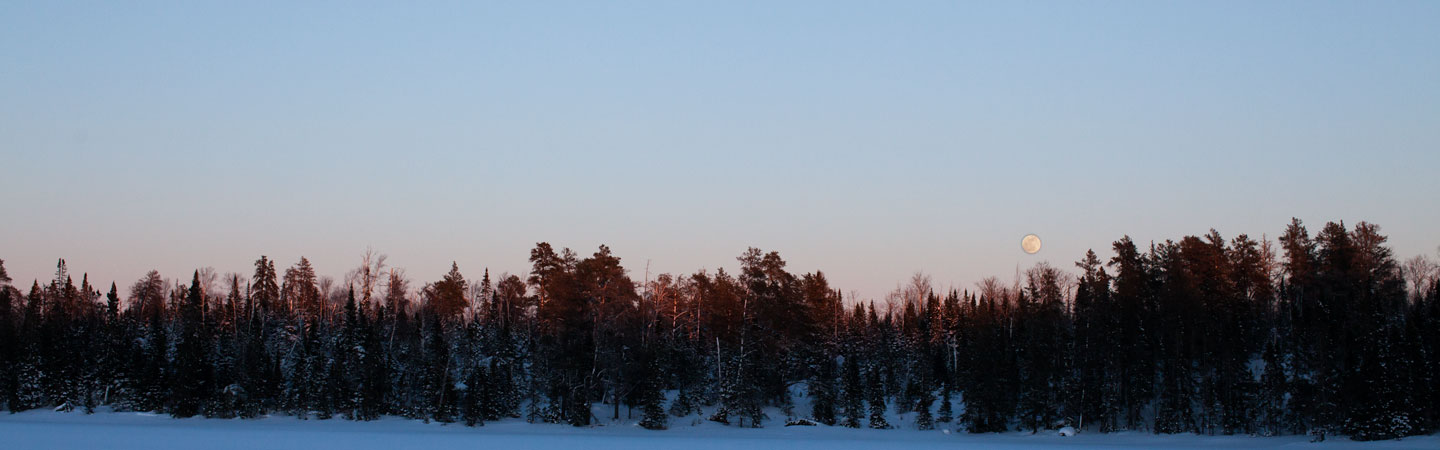 Boundary Waters, MN (March '14)