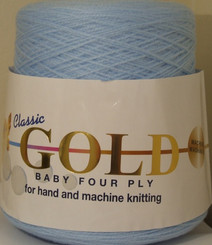 Woolcraft Classic Gold 4ply 400g balls