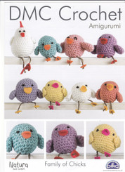 crochet leaflet  family of chicks 14900L/2