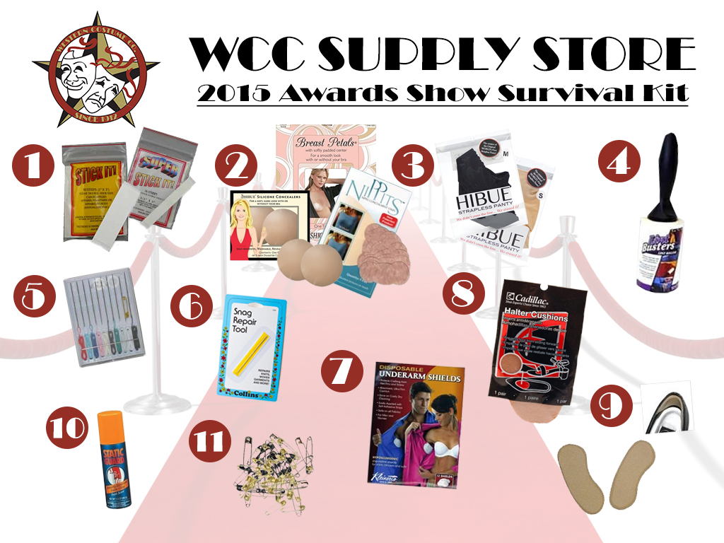 Award Show Survival Kit - WCC Supply Store