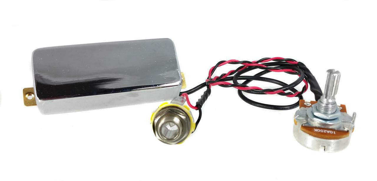 Build A Hot Rod Cigar Box Guitar Wiring Pickup Pre Wired Snake Oil Mini Humbucker 2849
