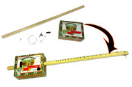 Cigar Box Diddley Bow Kit - includes all parts, hardware and how-to!