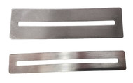 6pc. set of Fretboard Filing Guards - Perfect for protecting your fretboard while working on individual frets!