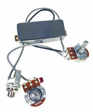 Chrome Snake Oil Humbucker Pre-Wired Pickup Harness w/ Volume & Tone Control
