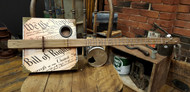 """Founder's Faith"" 3-string Fretted Open G Cigar Box Guitar"
