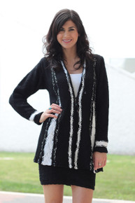 The Classic Black Sweater Jacket - More Colors
