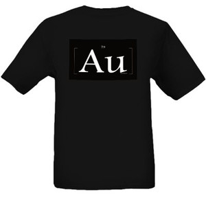 "AU Black ""Gold"" T Shirts"