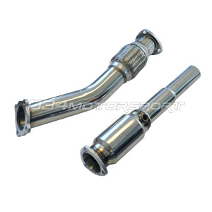 "034 High-Flow Catalytic Converter, 3"" Downpipe with HFC, MkIV Volkswagen Golf/Jetta GTI/GLI 1.8T"
