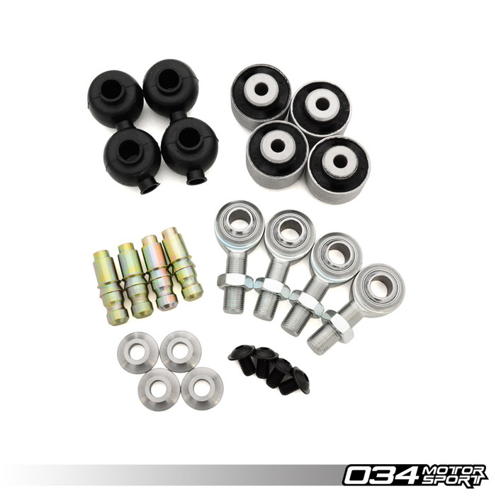 REBUILD KIT, DENSITY LINE ADJUSTABLE FRONT UPPER CONTROL ARMS FOR B8/B8.5 AUDI