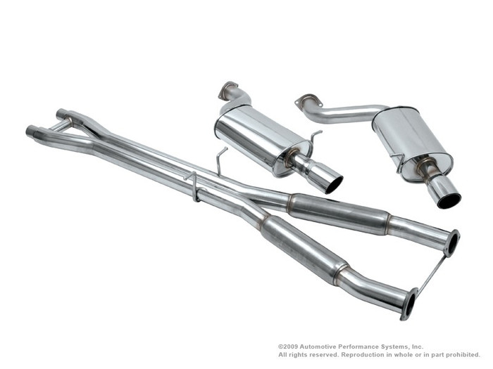 NEUSPEED Stainless Steel Cat-back Exhaust - 30.02.41