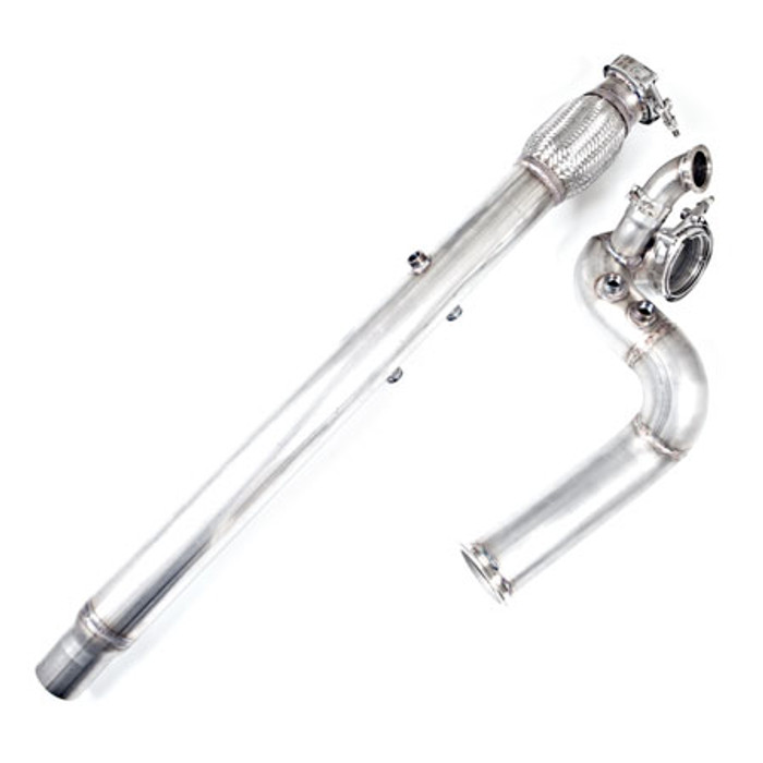 "3"" V-Band Downpipe For MKIV 3.2L VW R32 24V VR6  -"
