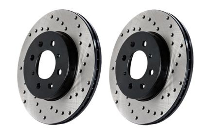 StopTech Drilled Sportstop Rotor - Front Right