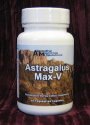 Astragalus Max-V Quantity-60, 500 mg  Vegetarian Capsules by Alternative Medicine Pharmacy