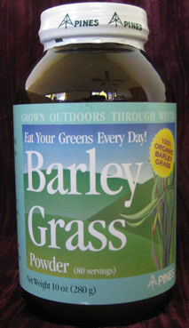 Organic Barley Grass Available in Powder or Tablets Powder Quantity - 10 oz., 80 servings Serving Size - 1 1/4 tsp Tablets Quantity - 500 or 250 Vegetarian tablets