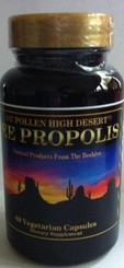 Each serving contains 500 mg of Bee Propolis 2:1 extract.  (Equivalent to 1000mg of Raw Bee Propolis)
