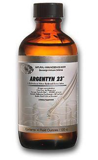 Colloidal Silver Argentyn 23 , 4 or 8 ounces