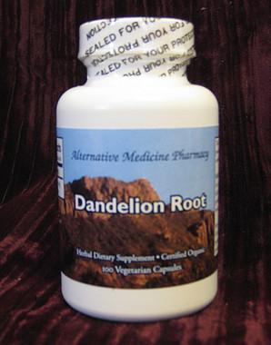 Organic Dandelion Root Capsules