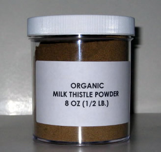 8oz Milk Thistle Powder CERTIFIED Organic