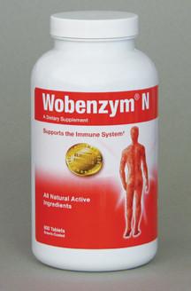 Wobenzym N supplement