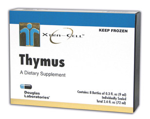 frozen XtraCell Thymus Gland supplement