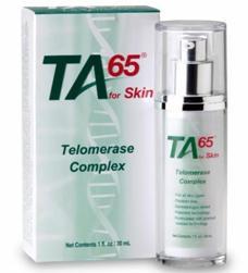TA65 anti-aging skin cream