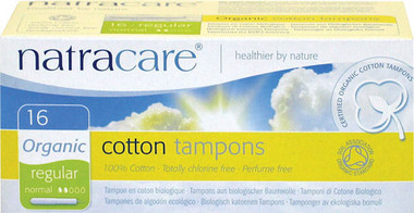 Organic Biodegradable Tampons