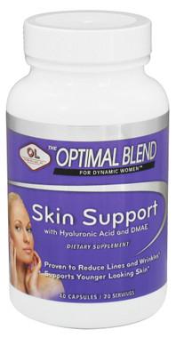 Optimal Blend For Dynamic Women Skin Support - 40 veggie caps