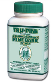 Tru-Pine 60 Vegetable capsules/500mg