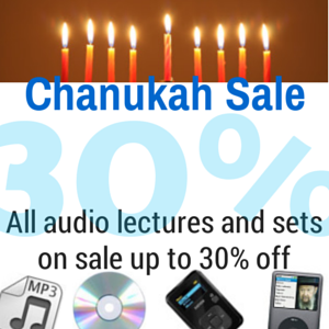 30% off all audio!