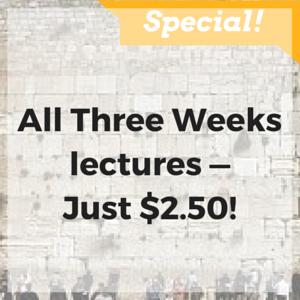Tisha B'Av lectures