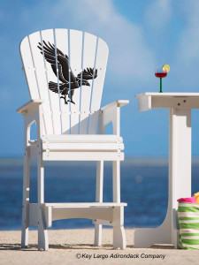 Outdoor Patio Lifeguard Chair - American Eagle