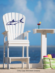 Outdoor Patio Lifeguard Chair - Bonefish - JM Design