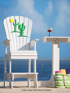 Outdoor Patio Lifeguard Chair - Cactus