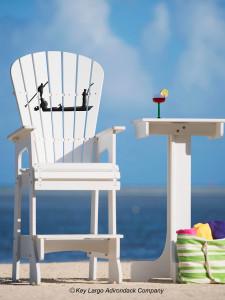 Outdoor Patio Lifeguard Chair - Flats Boat