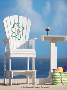 Outdoor Patio Lifeguard Chair - Gardenia