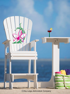 Outdoor Patio Lifeguard Chair - Orchid