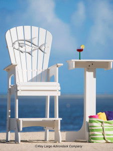 Outdoor Patio Lifeguard Chair - Permit - JM Design