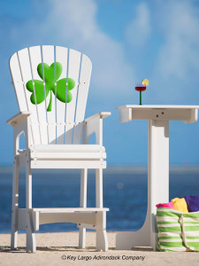 Outdoor Patio Lifeguard Chair - Shamrock