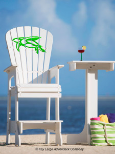 Outdoor Patio Lifeguard Chair - Turtle - JM Design