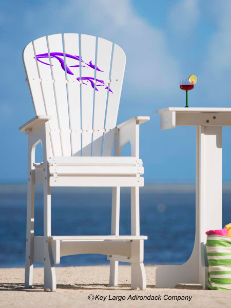 Outdoor Patio Lifeguard Chair Whales Jm Design Key