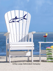 High Top Patio Chair - Bonefish - JM Design